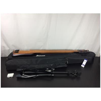 IbanezUB804 4-String Upright Fretless Electric Bass Guitar, Mahogany Oil Burst