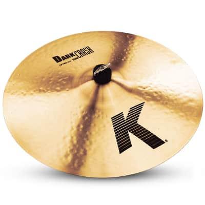 "Zildjian 18"" K Series Dark Thin Crash Cymbal"