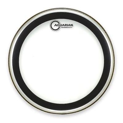 """Aquarian PF10 10"""" Performance II Clear Drum Head w/ Video Link"""