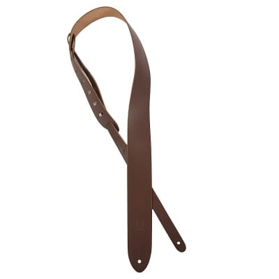 "Levy's M12 Genuine Leather 2"" Guitar Strap"