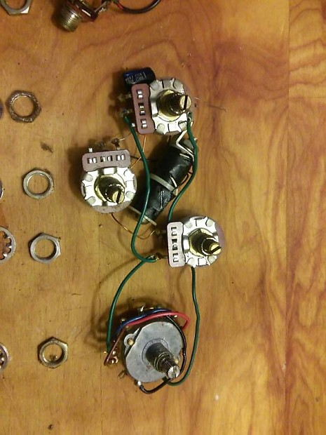 Groovy Gibson Ripper Bass Electronic Control Pots Wiring Harness Reverb Wiring Cloud Intapioscosaoduqqnet