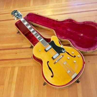 Epiphone Broadway c 1966 Natural original vintage USA Gibson Kalamazoo for sale