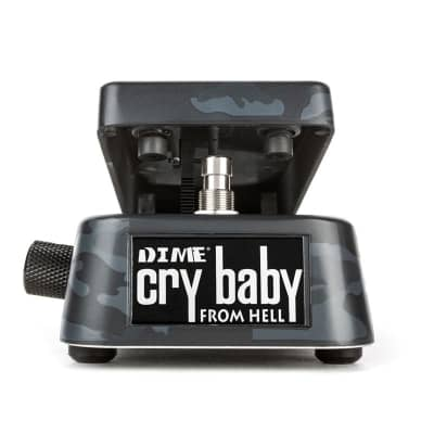 Dunlop DB01 Dimebag Cry Baby From Hell Wah Pedal, Black Camo for sale