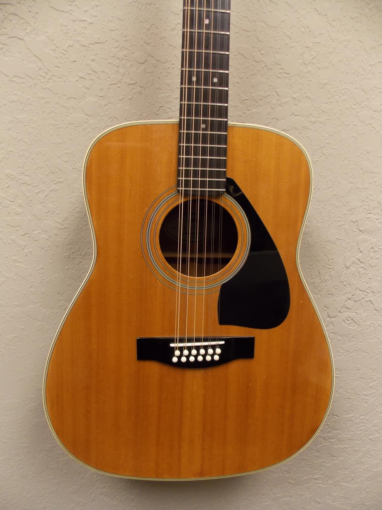 Yamaha Fg  String Acoustic Guitar Natural