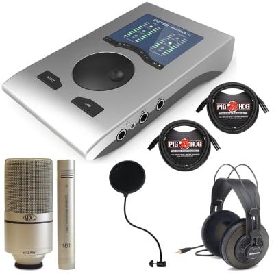 RME Babyface Pro 24-bit/192kHz USB Audio Interface + MXL Microphone Set and XLR Cables image