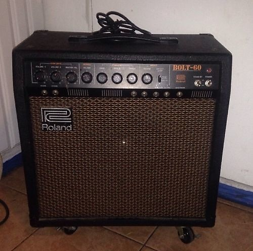roland bolt 60 tube hybrid guitar amplifier combo amp w reverb. Black Bedroom Furniture Sets. Home Design Ideas