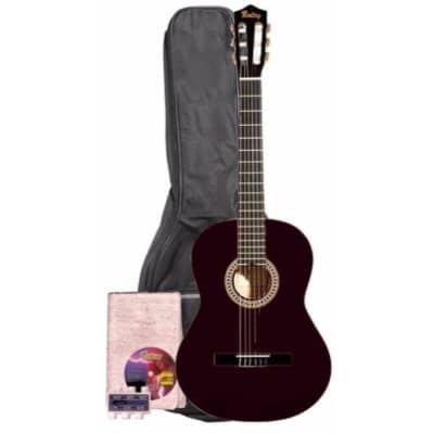 Monterey Classical Guitar Black Full Size Nylon 4/4 MC-139BK for sale