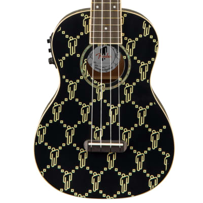 Fender Billie Eilish Uke Walnut - Black