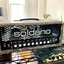 Soldano SLO-30 Classic 30-Watt Guitar Head - Custom Snakeskin w/ Black Control Panel