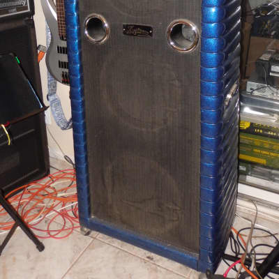 Kustom Bass Amp with 200 Head  1967 Black and Blue