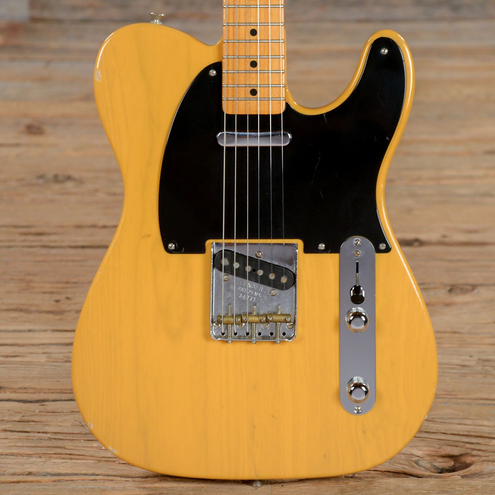 Are not fender reissue vintage 52 tele you