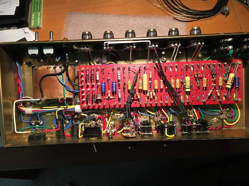 Hand Wired 50 Watt Plexi Jmp Lead 1987 Marshall Clone