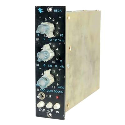 API 550A 500 Series 3-Band Equalizer Module