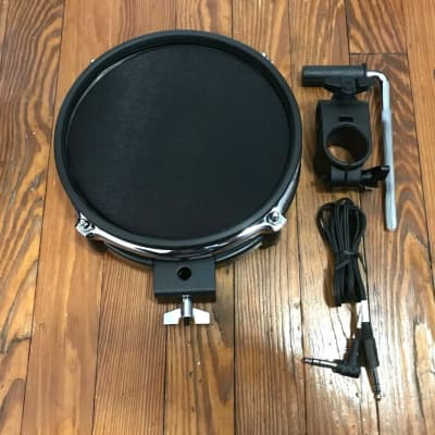 """Alesis 8"""" Mesh Drum Pad NEW w/1.5"""" Clamp, Bar & Cable (Dual Zone) Surge Command"""
