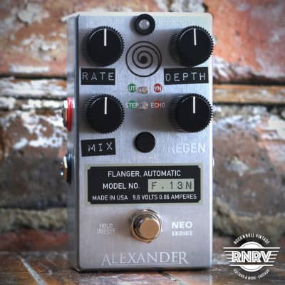 Alexander F.13 Neo Series Flanger - Silver