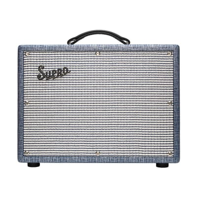 Supro 1622RT Tremo-Verb 25W 1x10 All Tube Electric Guitar Combo Amp Amplifier
