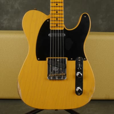 Fender Custom Shop 51 Nocaster, Relic - Butterscotch Blonde w/Case - 2nd Hand for sale