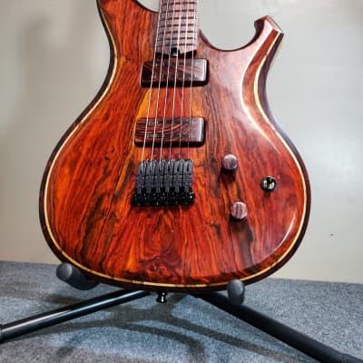 Barlow Guitars Falcon II  2020 Cocobolo / Camatillo Rosewood for sale