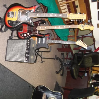 Teisco guitars and Cameo bass for sale