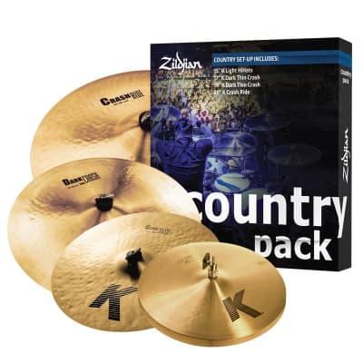 Zildjian K Country Cymbal Box Set (MINT, DEMO)