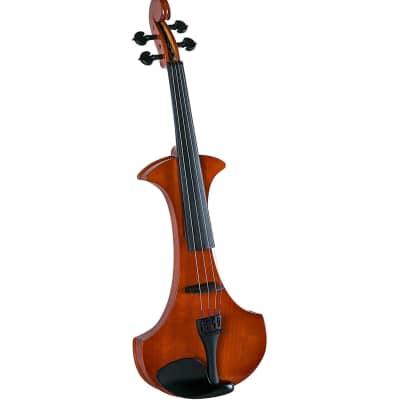 Cremona Premier Student Electric Violin w/ Case & Bow - 4/4 Size