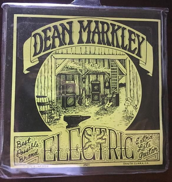 Dean Markley 2501 Signature Series Nickelsteel Electric