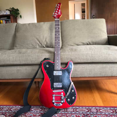 Schecter PT Fastback with Bigsby, Red for sale