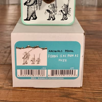 Animals Pedals Fishing Is As Fun As Fuzz Guitar Effect Pedal