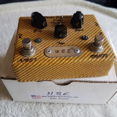 HomeBrew Electronics Power Screamer Overdrive - Ltd Edition Tweed