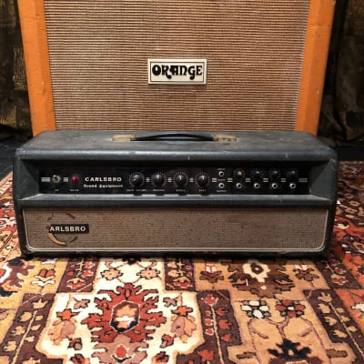 Vintage 1960s Carlsbro Sound CS40-60 PA MK1 EL34 Valve Amplifier Lay Down Trans for sale