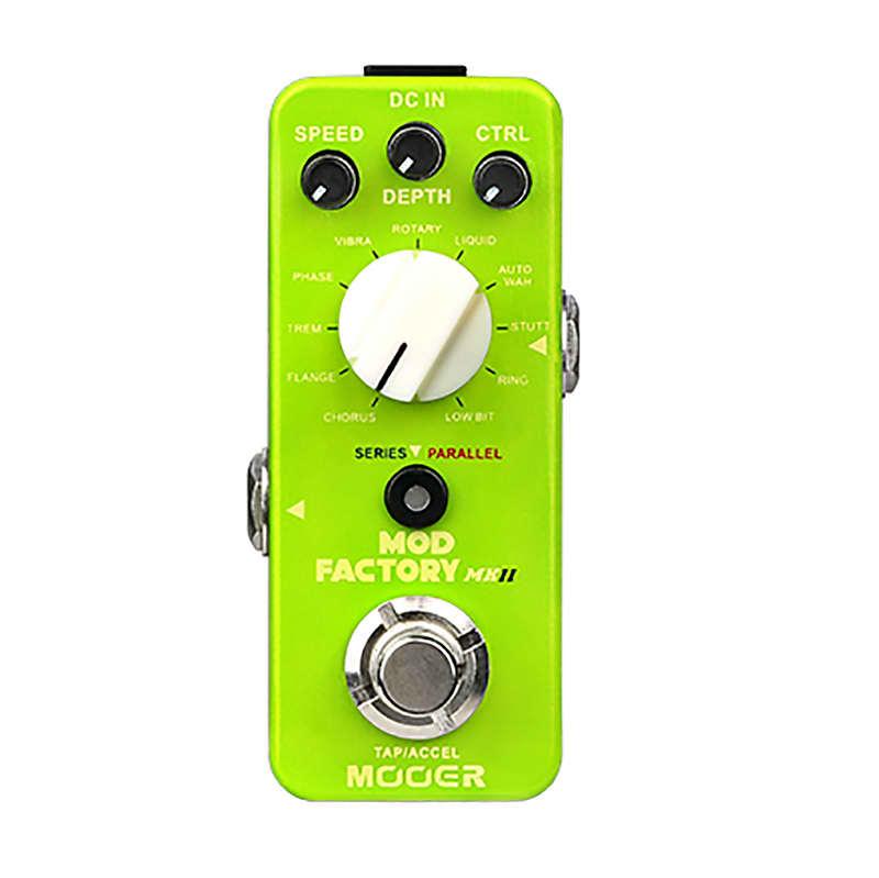 Mooer Mod Factory MKII 11 Algorithms Chorus, Flange, Trem , Phase and more image
