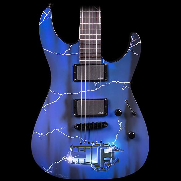 esp ltd metallica ride the lightning limited edition electric reverb. Black Bedroom Furniture Sets. Home Design Ideas