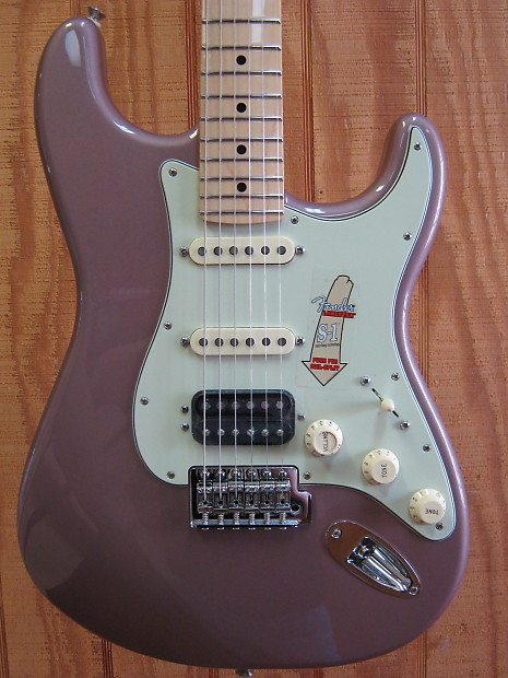 fender deluxe lone star stratocaster electric guitar burgundy reverb. Black Bedroom Furniture Sets. Home Design Ideas