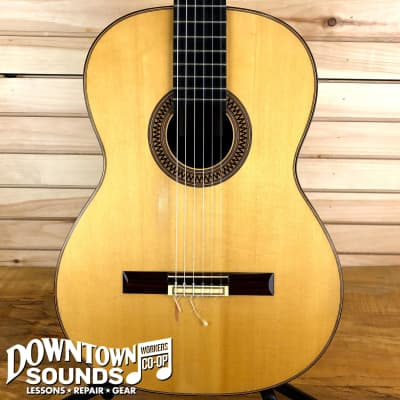 Michael Thames Classical Guitar with Hardshell Case (1989) for sale