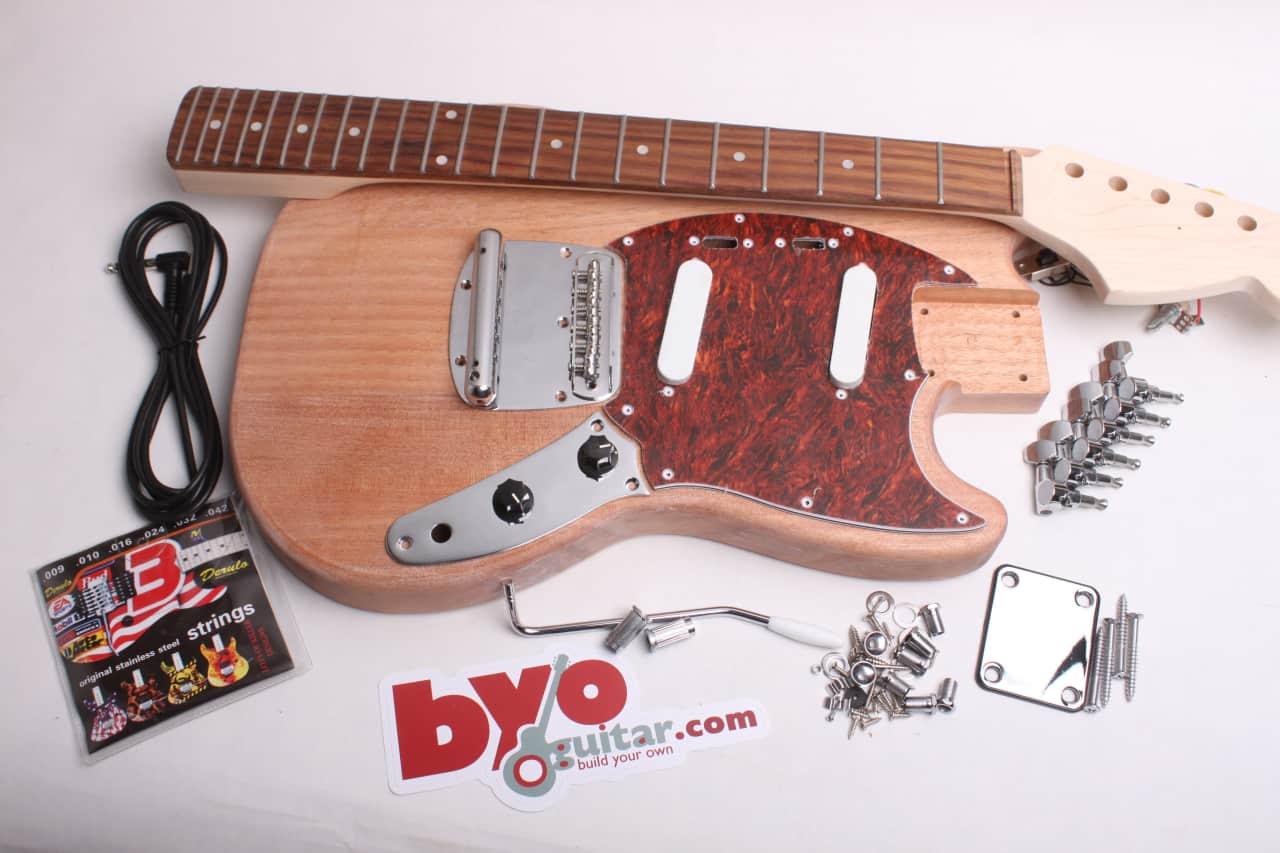 byoguitar mustang unfinished guitar kit byoguitar reverb. Black Bedroom Furniture Sets. Home Design Ideas