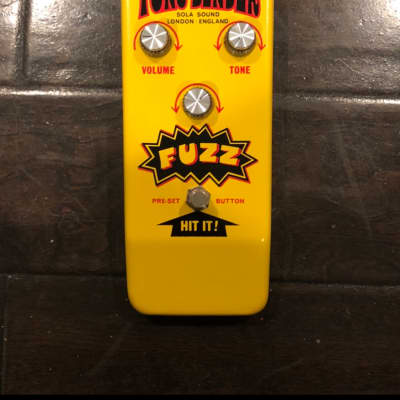 Sola Sound Hybrid Tone Bender 2020 Yellow for sale