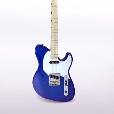 Dream Studios   Twang Guitar - Blue Boy Burst for sale