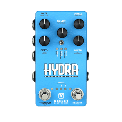 Keeley Hydra Stereo Reverb & Tremolo