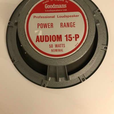 Vox Goodmans  Audiom Speaker 15-P 1967 Grey