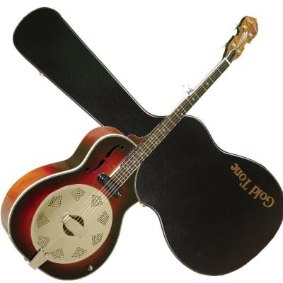 GOLD TONE Dojo DELUXE 5-string Acoustic/electric Resonator BANJO - NEW w/ CASE