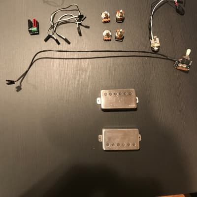 EMG 57/66 Solderless Active Pickups Brushed Chrome