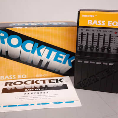 Rocktek BER-01 Bass EQ for sale