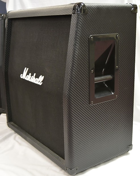 marshall mg412a 4x12 120w angled guitar cabinet | reverb