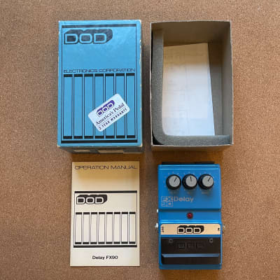 DOD FX90 Analog Delay Pedal (Made in USA)
