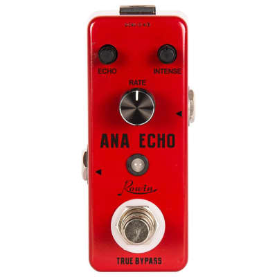 Rowin Ana Echo Analog Delay Pedal with Upgraded True Bypass
