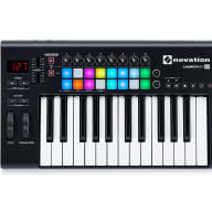 Novation LaunchKey 25 MkII MIDI Keyboard Controller with Ableton Live