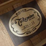 <p>Late 80s/Early 90s Takamine EN-20 Jumbo - Natural Cedar, Like New!</p>  for sale