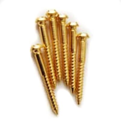 MannMade USA Mounting Screws Steel - Gold Plated
