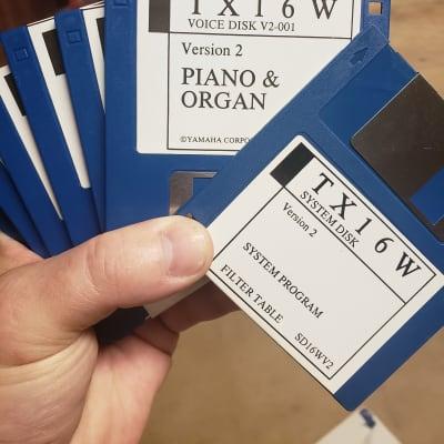 Yamaha Tx16w sound library 147 disks