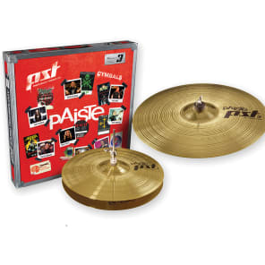 "Paiste PST 3 Essential Set 14""/18"" Cymbal Pack"